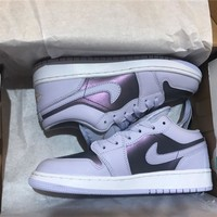 Air Jordan 1 Retro Low (GS) Oxygen Purple