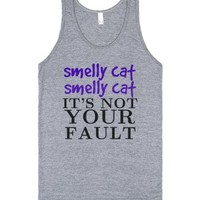 Smelly 1-Unisex Athletic Grey Tank
