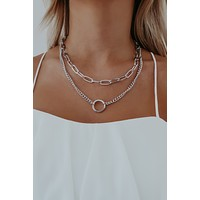 Dream Lover Necklace: Silver
