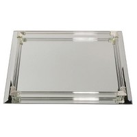 Mirrored Rectangular Vanity with Glass Gallery Rods : Target