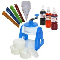 Time for Treats TM  Snow Cone Gift Pack with Manual Snow Cone Maker by VICTORIO VKP1103