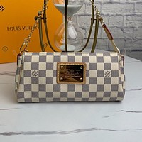 LV Louis Vuitton new products women's full printed letter cylinder shoulder bag shopping diagonal bag