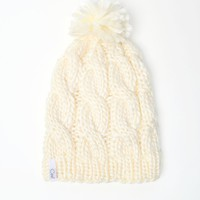 Coal The Rosa Beanie - Womens Hat - Cream - One