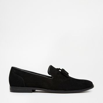 ASOS Loafers in Faux Suede at asos.com