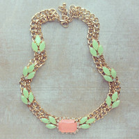 SPARKLING APRICOT SUMMER NECKLACE