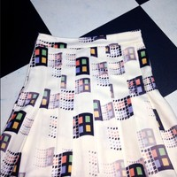 SWEET LORD O'MIGHTY! OG MICROSOFT TENNIS SKIRT