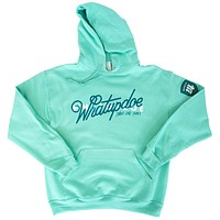 What Up Doe Hoodie - Mint