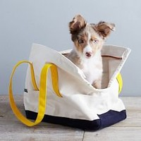 Love Thy Beast Carrying Tote - Olive