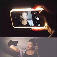 [In stock] Best selfie Phone case For 6 6s plus 5 5s iPhone 7 7 PLUS case LED Selfie Case Light Flash Luminous Self Back Cover