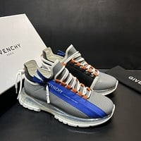 GIVENCHY  Men Fashion Boots fashionable Casual leather Breathable Sneakers Running Shoes 08095
