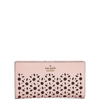 kate spade new yorkCameron Street Stacy Perforated Leather Wallet