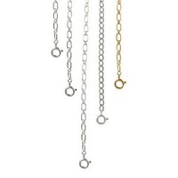 Sterling Silver Necklace Extender Chain Set