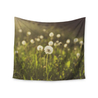"""Libertad Leal """"As You Wish"""" Dandelions Wall Tapestry"""