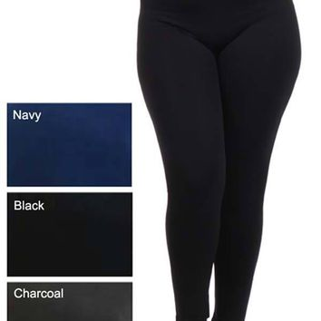 Plus Size Seamless Leggings