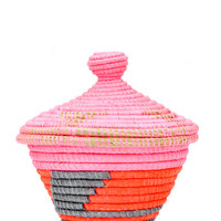 Neon Dreams Lidded Basket