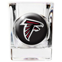 Personalized NFL Shot Glass - Falcons