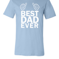 best dad ever tshirt - Unisex T-shirt