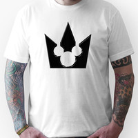 Kingdom Hearts Mickey Crown Poster Unisex T-Shirt