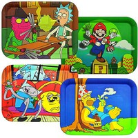 """14""""x10"""" Famous Character Bamboo Fiber Rolling Tray"""