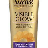 Suave Professionals Visible Glow Self-Tanning Body Lotion, Fair to Medium 7.5 oz