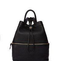 Tory Burch Robinson Pebbled Convertible Backpack