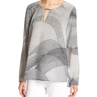 Banana Republic Womens Factory Hi Lo Georgette Blouse