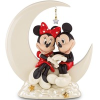 Disney's Over The Moon For Minnie Figurine By Lenox