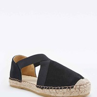 Out From Under Jerry Suede Espadrilles in Black - Urban Outfitters