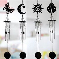 Metal Windchime Outdoor Garden Ornaments Three Tubes Car Bedroom Living Room Home Decor