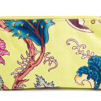 Cotton Cosmetic Purse (Lime)