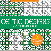 CELTIC DESIGNS ARTIST'S COLORING BOOK