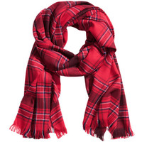 Checked Scarf - from H&M
