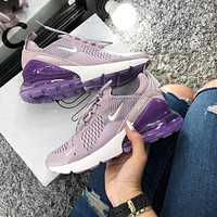 Nike Air Max 270 men and women The air cushion shoes-22