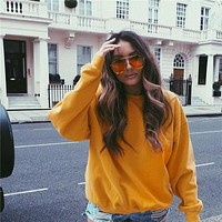 Women's Fashion Hot Sale Winter Round-neck Long Sleeve Hoodies