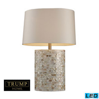 Dimond D1413-LED Trump Home Sunny Isles Mother Of Pearl One Light LED Table Lamp