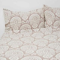 Queen Size Duvet Cover in Grey - Urban Outfitters