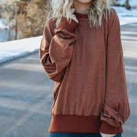 The Essential Pullover (Brown)