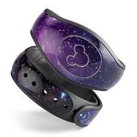 Glowing Deep Space - Decal Skin Wrap Kit for the Disney Magic Band