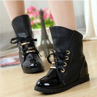 2015 new  fashion woman boots martin boots motorcycle boots new arrived new fashion woman winter and autumn woman shoes = 1945881476