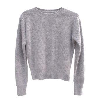 Grey Pullover Sweater