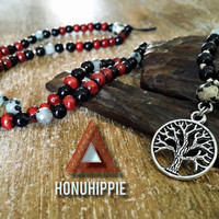 Tree of Life necklace, boho hippie jewelry