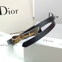 Dior trend ladies gold buckle wild simple decoration with skirt belt