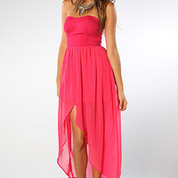 The State of the Art Dress in Fuchsia