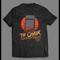 THE CHAIR THE WRESTLING CHAMPION 1987 RETRO SHIRT