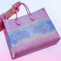 LV Louis Vuitton Fashion Ladies Print Trendy Shoulder Handbag