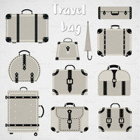 Suitcase clipart Svg, luggage clipart, travel clipart, travel bag clipart, travel, handbag clipart, Digital clipart, bag clipart, luggage