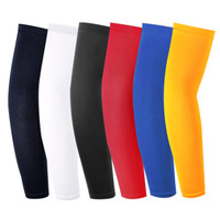 1PC Arm Long Sleeve Sports Cover Hand Arm Elbow Protector Gear Basketball Football Long Sleeves Stretchy Quickly dry Breathable