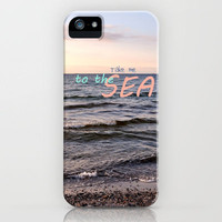 Take me to the Sea iPhone Case by Iris Lehnhardt   Society6