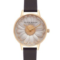 **Flower Show Moulded Daisy Watch by Olivia Burton - Jewellery - Bags & Accessories