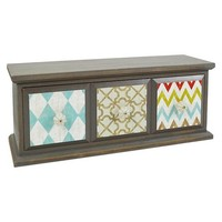 Drew Derose Desk Drawer Organizer - Green